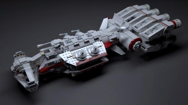 Lego-spaceship-tanine-IV