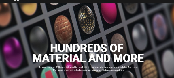 Survival Shader Pack | Arnold Material Library For Maya | Arnold
